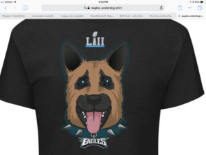 Underdog Eagles Logo